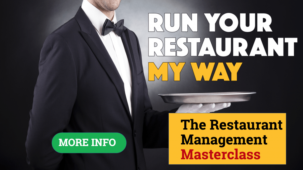 Restaurant Management Course