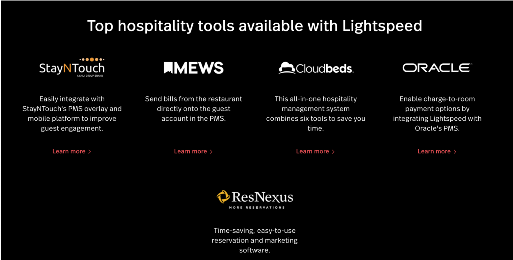 best pos system for hotels